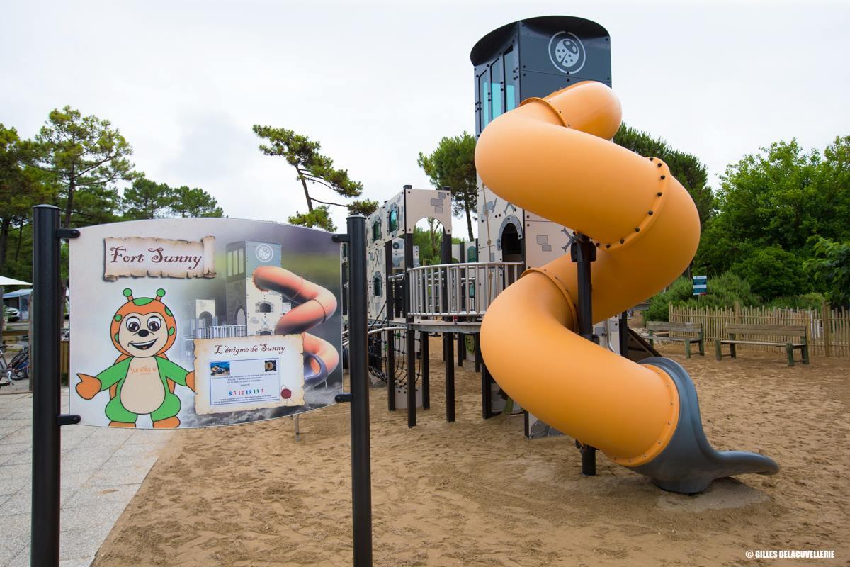 Custom Playground Tower
