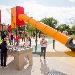 Geispolsheim sport-themed playground