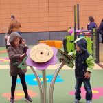 Orange Les Vignes Shopping Centre Playground