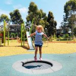 Pencil Park Playground at Hidden Grove Reserve