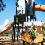 Tugun Park Medieval themed playground