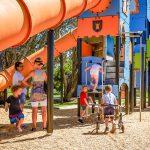 Tugun Park castle themed playground