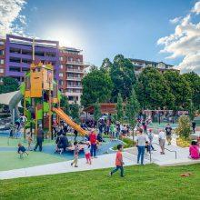 Waitara Park inclusive playground