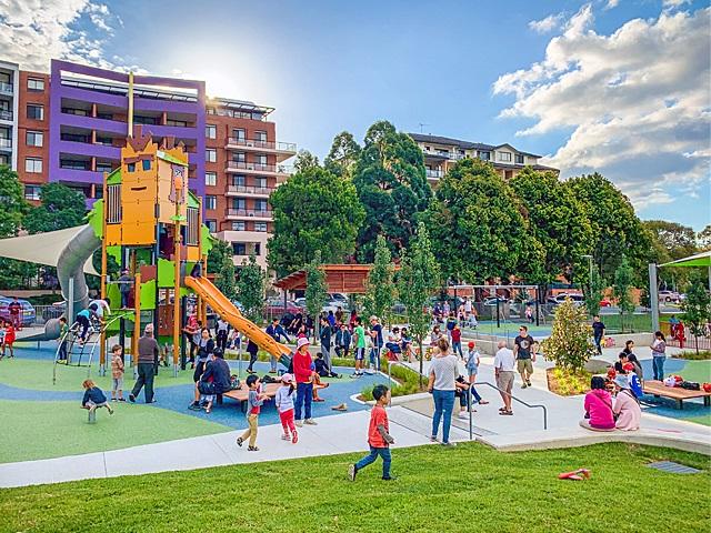 Waitara Park inclusive playspace
