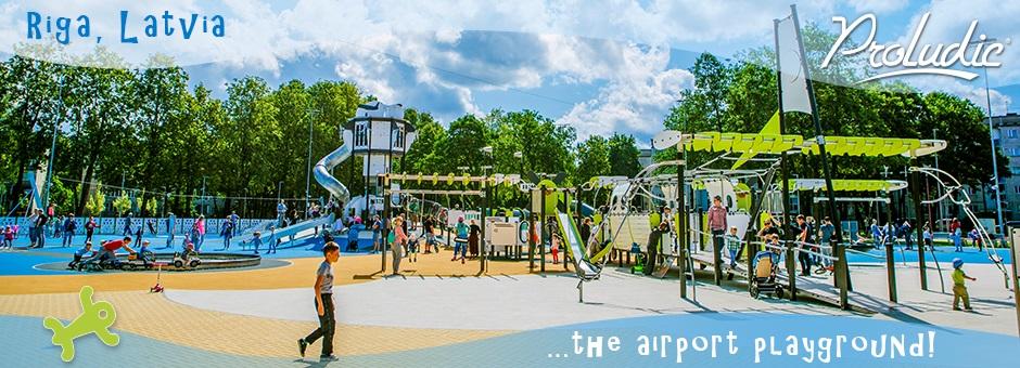 Riga Airport Playground