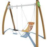 Nature-inspired swings