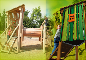 Multi play structures
