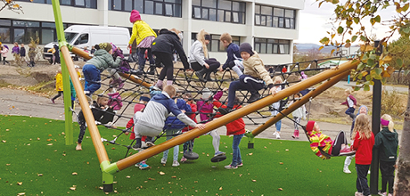 Jeux d'équilibre et à grimper