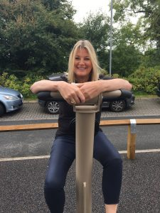 Anne on proludic outdoor gym equipment urbanix