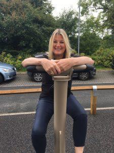 Anne on proludic outdoor gym equipment urbanix