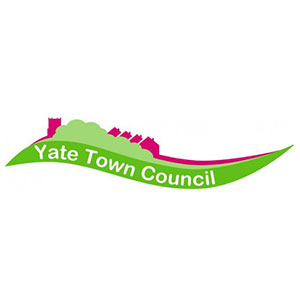 Yate Town Council small white square logo