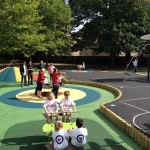 Proludic' play equipment being used at RAF Brize Norton