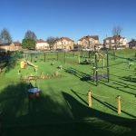 Aldersbrook Avenue Recreation Ground Play Park 4 Birds Eye view