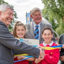 Hull West Park Kids Kingdom Gets Knighted Play Equipment Image 9