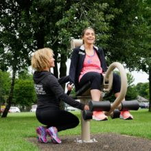 Jubilee Park Green Gym Knowsley Outdoor Gym Equipment Example of Excellence Image 2