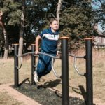 RAF Cranwell Outdoor Gym Equipment Trim Trail Image 2
