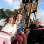 Great Gedling Site Opening for New Play Area Image 9 ribbon cutting