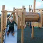 Great Gedling Site Opening for New Play Area Image 5 Child on Slide
