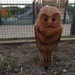 Great Gedling Site Opening for New Play Area Image 1 Owl Sculpture