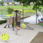 Great New Playground in France Image 5 Play Area Site with Proludic Children's Play Equipment