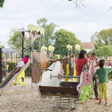 Great New Playground in France Image 3 Bespoke Playground Design with Proludic Play Equipment