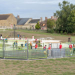Great New Playground in France Image 7 Outdoor Gym Equipment Play Area surfacing