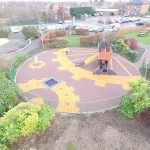 Birds Eye view of Daisy Chain Project Playground Design Image 2