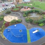 Birds Eye view of Daisy Chain Project Playground Design Image 1