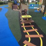 case studies grange park play area greater london play area site image 1