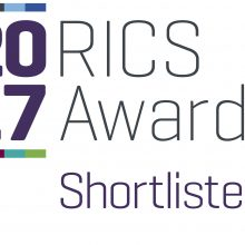 RICs_Shortlist 2017 large white square with purple text prestigious award for proludic
