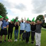 Robin Hood event for Proludic's 15 year birthday image 9 green hats