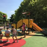 grande synthe inaugurated inclusive and accessible play area image 2 slide and springer play equipment