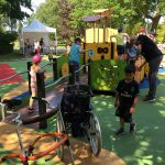 grande synthe inclusive and accessible inaugurated play area