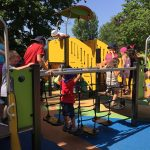 grande synthe inaugurated inclusive and accessible play area image 5 suspended bridge