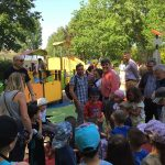 grande synthe inaugurated inclusive and accessible play area image 5 crowd gathered