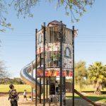 proludic bespoke playground equipment climbing tower example from Adelaide, Australia