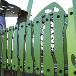 design2017 green safety fencing from kanope range