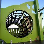 tunnel from kanope 2 range part of innovative playground design