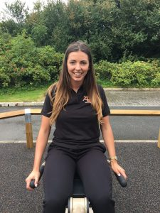 Annabel on proludic outdoor gym equipment