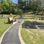 Proludic children's playground equipment at Rothay Park, Ambleside image 1