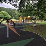 Proludic children's playground equipment at Rothay Park, Ambleside image 2