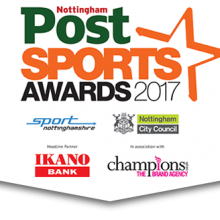 Nottingham Post Sport Awards - 2017 naming sponsors - sport nottingham ikanko bank champions the brand agency nottingham city council
