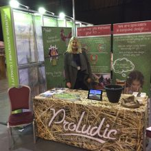 NFAN Trade exhibition offer from Proludic - Proludic stand decorated with branding