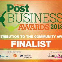 nottingham business awards - community category