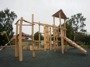part of Proludic's robinia playground equipment range
