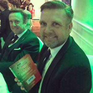 Nottingham Evening post business awards Proludic Ltd Finalist