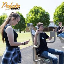 Proludic Sport PRO App in Use - for users of our Outdoor Gyms.