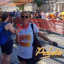 Proludic Paula runs to support Fields in Trust