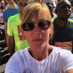 Paula at the start line in her Proludic gear, Proludic Fitness.
