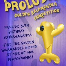 Proludic Golden Salamander Competition Announcement Poster